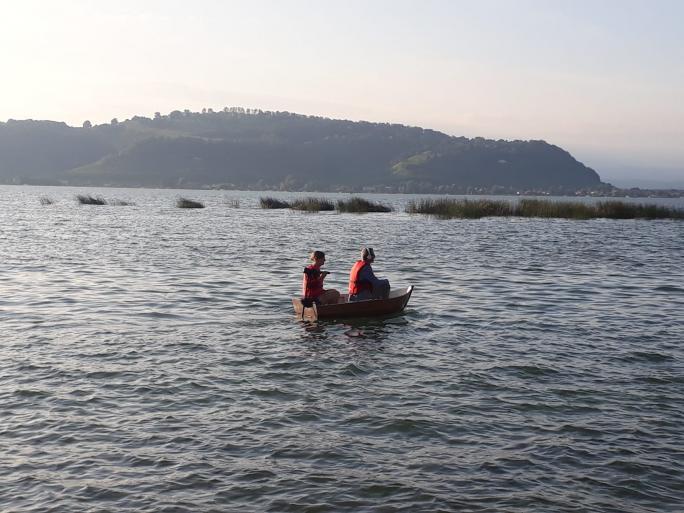 Balade audio en barque