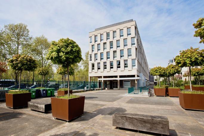 Vue bâtiment Cité des Arts