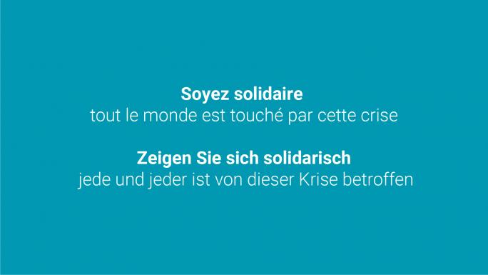 Soyez solidaire