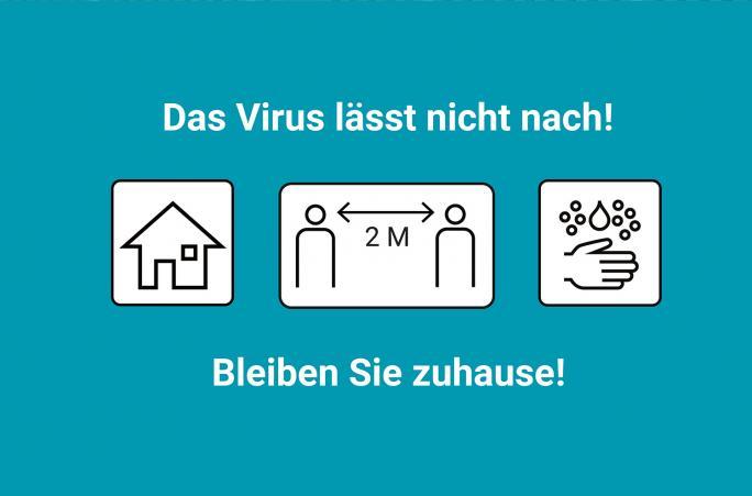 Das Virus lässt nicht nach