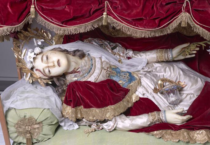 Relique de Sainte Quintienne