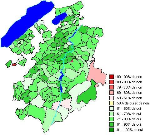 Résultats par communes: Loi sur la péréquation financière intercommunale (LPFI)