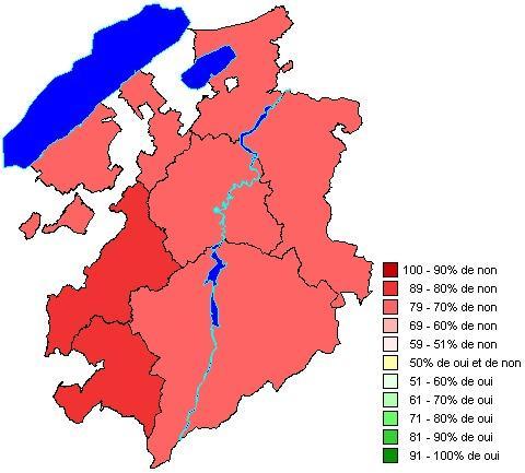 Résultats par districts: Prévoyance professionnelle: adaptation du taux de conversion minimal
