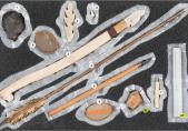 Mallette d'archéologie fribourgeoise : l'Atelier de l'histoire : 1 Le Paléolithique