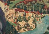 Anton Schmidt, Fribourg, la Ville Basse, vers 1917
