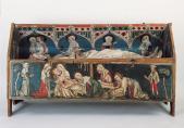 Inconnu, Sépulcre pascal du couvent de la Maigrauge, vers 1350
