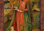 Maître I. B., Sainte Dorothée, vers 1500