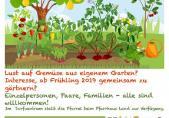 Affiche du jardin communautaire de Schmitten