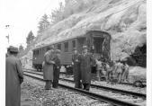 Ermittlungen Zugentgleisung Flamatt 1943