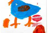 """Une des affiches de l'exposition """"Simplement Poussins""""_69"""
