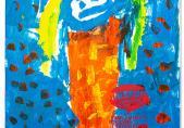 """Eines der Plakate der Ausstellung """"Einfach Küken""""_40"""