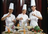 Singapour, chefs étoilés à l'hôtel Furama, avant 1985