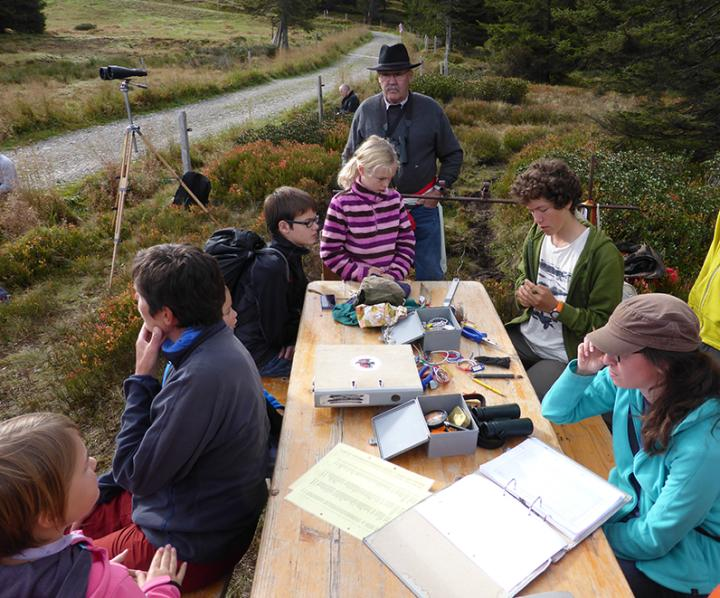 Excursion ornithologique pour les Amis du Musée