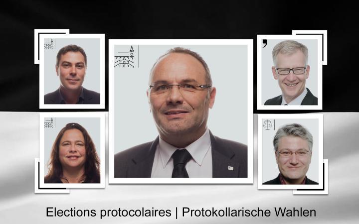 Protokollarische Wahlen 2018