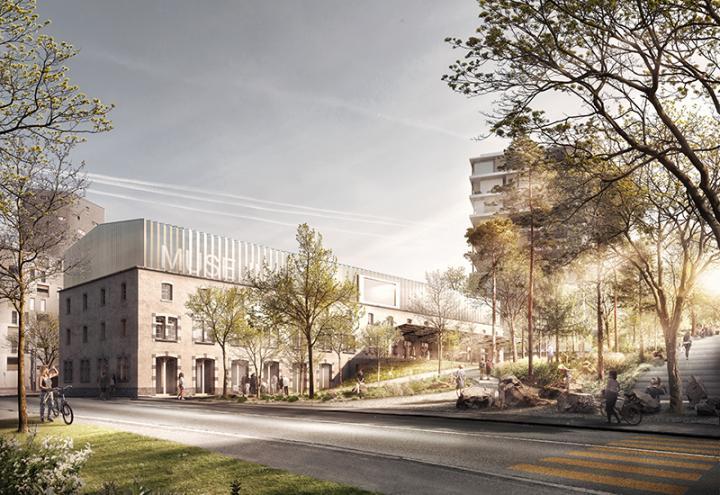 M13, projet lauréat du concours d'architecture pour le nouveau Musée d'histoire naturelle