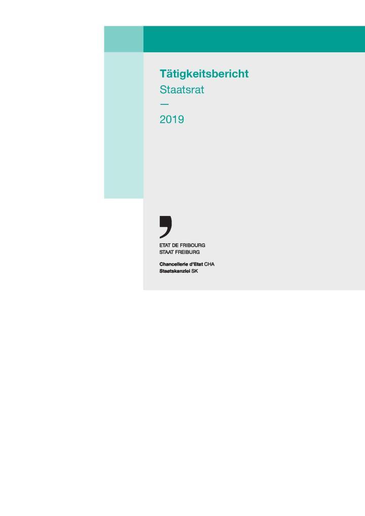 Tätigkeitsbericht Staatsrat 2019