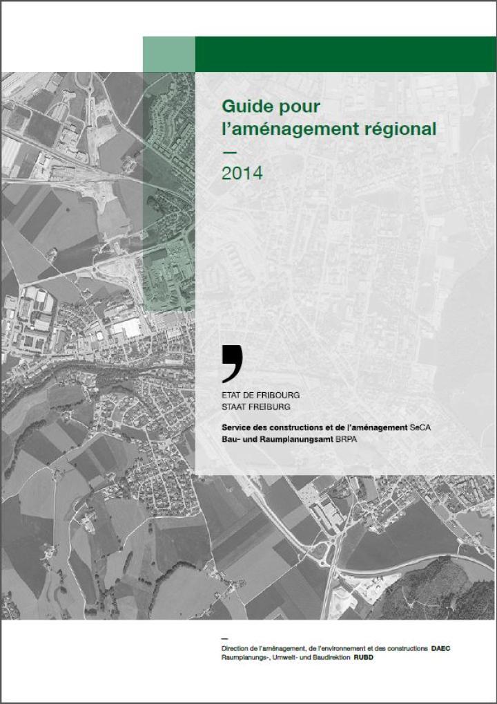 Image du classeur du Guide pour l'aménagement régional