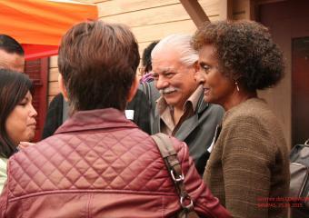 Le vivre-ensemble, c'est aussi lorsque des personnes de tout âge et toute origine discutent ensemble !