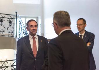 Visite de courtoisie de l'ambassadeur Michael Matthiessen