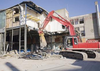 Baustellenabfälle