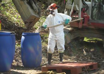 Sanierungsprojekt der Deponie La Pila