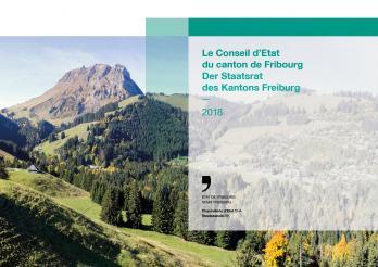 Couverture de la brochure du Conseil d'Etat 2018