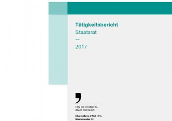 Umschlag Tätigkeitsbericht SR 2017