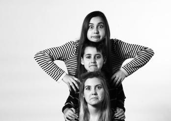 Drei Jugendliche
