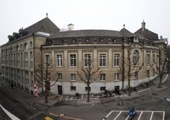 Gebaüde der Kantons- und Universitätsbibliothek von Freiburg