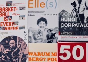 Expositions de la Bibliothèque cantonale et universitaire de Fribourg