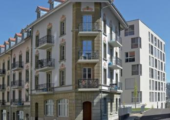 Immeubles en ville de Fribourg