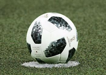 Ballon de foot de la Coupe du Monde 2018 en Russie
