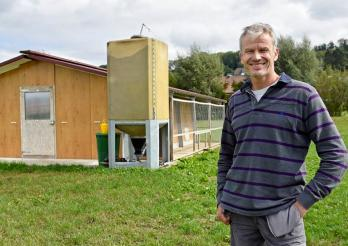 Landwirtschaftlicher Innovationspreis, der Gewinner 2016 Laurent Godel