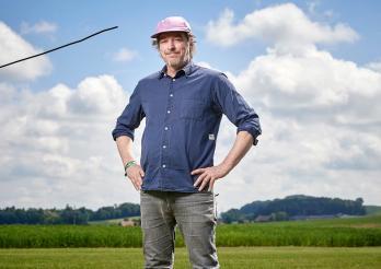 Der Tonverein Bad Bonn erhält den Kulturpreis 2018 des Staates Freiburg - Daniel Fontana, Gründer des Klubs