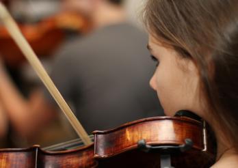 Orchestre des élèves, à Morat