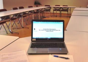 Séance Association fribourgeoise des Conservatrices et Conservateurs du Registre foncier