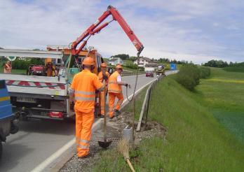 Photo entretien des routes