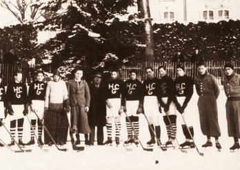 Mannschaft des HC Gotteron, 1940