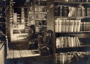 Ehemaliges Archivlokal des StAF