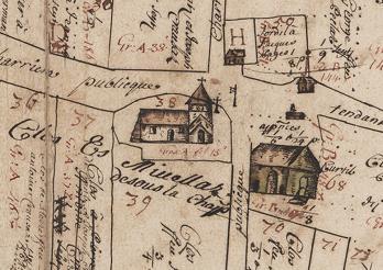 Zehntplan von Chatonnaye (1717), Detail