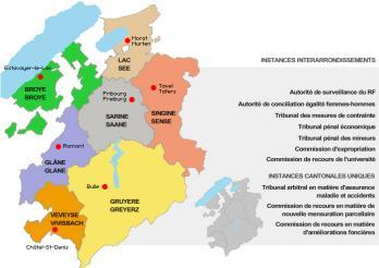 Compétences territoriales - Örtliche Zuständigkeiten