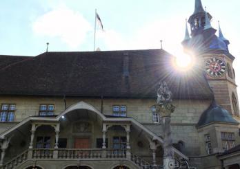 L'Hôtel cantonal, siège du Grand Conseil