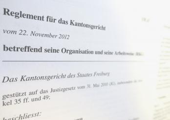Reglement für das Kantonsgericht