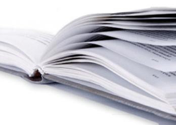 livre de registre ouvert