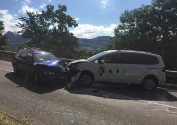 Accident de la circulation à Broc