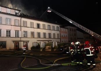Incendie Romont