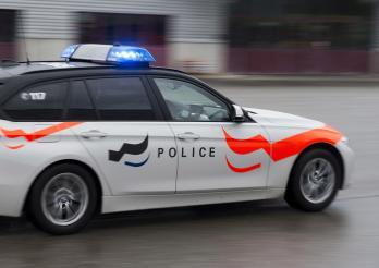 voiture de la police cantonale