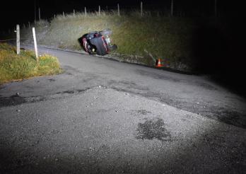 Accident circulation mortel à Hauteville