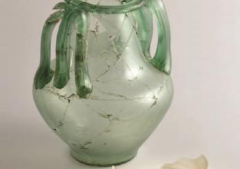 Objet en verre - Glasobjekt
