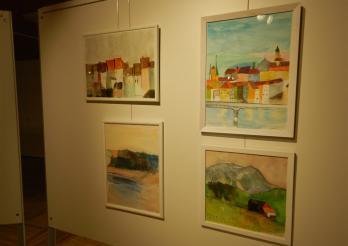 Expo de peintures, Aphasia F